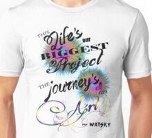Watsky Cardboard Castles Unisex T-Shirt