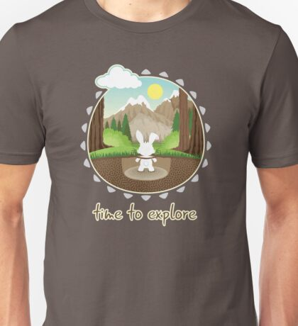 Time to explore Unisex T-Shirt