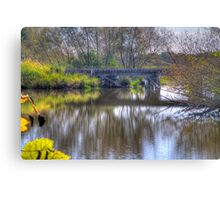 Country Trestle Canvas Print