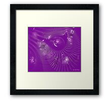 Livid Unification Framed Print