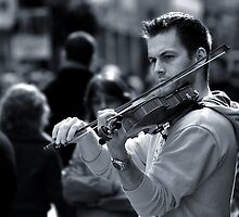 Violinist  by Declan Carr