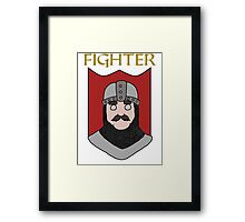 Finley the Fighter Framed Print