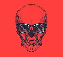 Hipster skull with glasses  by camek