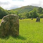 Brecon Standing Stones by RedHillDigital