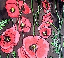 Poppies XIV by Alexandra Felgate