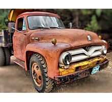 Ford F500 Photographic Print