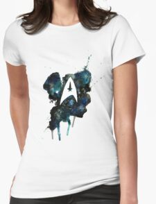 The Final Frontier Womens Fitted T-Shirt