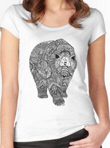 Deity Bear Women's Fitted Scoop T-Shirt