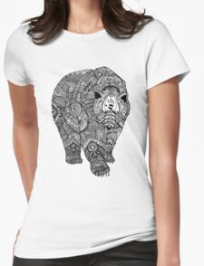 Deity Bear Womens Fitted T-Shirt