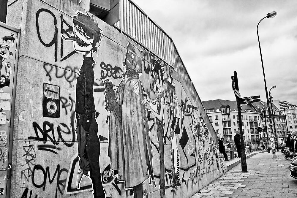Urban Gorillaz by Nayko