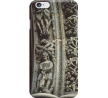 Doorjamb Nidaros Trondheim Norway 19840622 0015 iPhone Case/Skin
