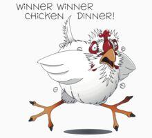 Winner Winner, Chicken  One Piece - Short Sleeve
