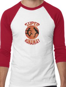 Super Runaway Men's Baseball ¾ T-Shirt