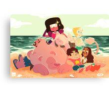 Beach Date Canvas Print