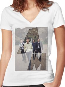 Arctic Monkeys - AM Women's Fitted V-Neck T-Shirt