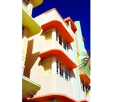 art deco, south beach Photographic Print