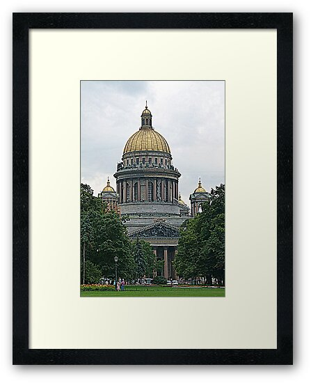 St. Isaac's Cathedral by Trish Meyer
