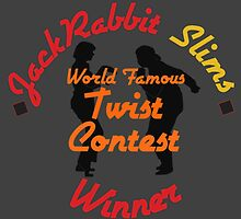JackRabbit Slims Twist Contest Winner - Iphone / Ipod / Print / Shirt by swelldame
