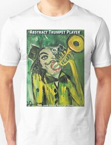ABSTRACT TRUMPET PLAYER T-Shirt