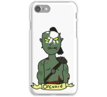 Socially Orcward iPhone Case/Skin