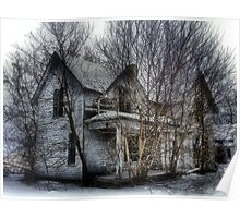 Abandoned Tree House Poster