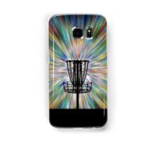 Disc Golf Basket Silhouette Samsung Galaxy Case/Skin