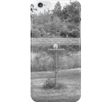 Wessel Pines Disc Golf Course iPhone Case/Skin