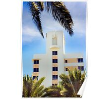 art deco style, south beach Poster