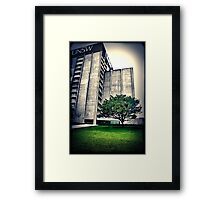 Library. UNSW Framed Print
