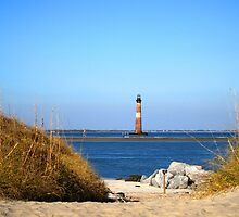 The Lighthouse on Morris Island Charleston by Susanne Van Hulst