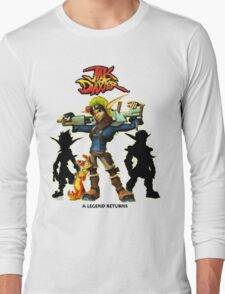 Jak & Daxter Trilogy  Long Sleeve T-Shirt