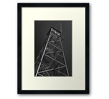 The Fire Tower Framed Print