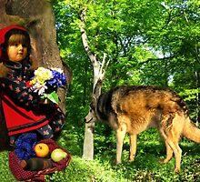 Little Red Riding Hood by Detlef Becher