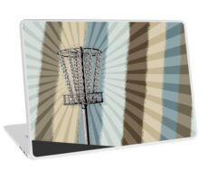 Disc Golf Basket Graphic Laptop Skin
