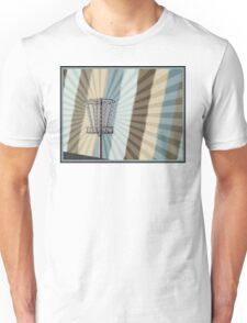 Disc Golf Basket Graphic Unisex T-Shirt