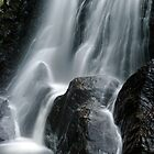 Beaver Meadow Brook Falls - Detail by Stephen Beattie
