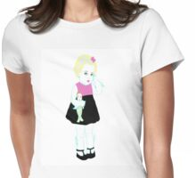 Baby Lagoona Blue Womens Fitted T-Shirt