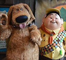 UP Characters Russell Dug Dog Wilderness Explorer by notheothereye