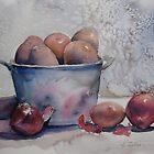 Lovely potatoes by Karin Zeller