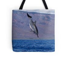 Hawaiian Spinner Dolphin Tote Bag
