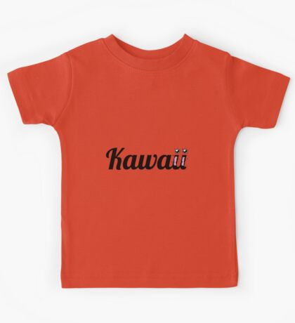 Kawaii Typography Kids Tee