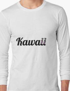 Kawaii Typography Long Sleeve T-Shirt