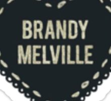 Brandy Melville Sticker Logo Sticker