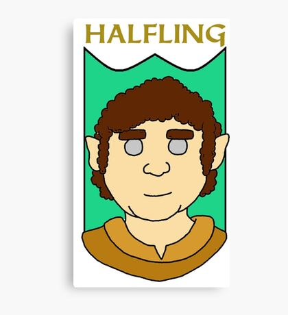 Howie the Halfling Canvas Print