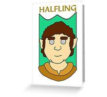 Howie the Halfling Greeting Card