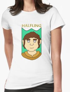 Howie the Halfling Womens Fitted T-Shirt