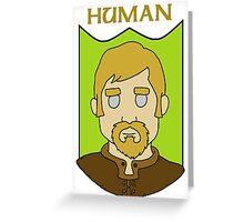 Hadley the Human Greeting Card