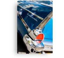 chevy fins Canvas Print