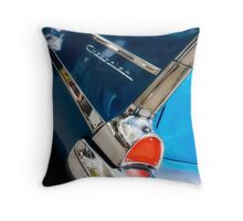 chevy fins Throw Pillow