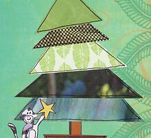 Little Monkey Christmas Tree by Sally Harris